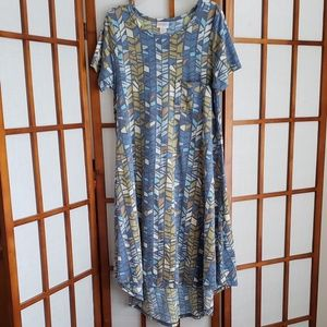 LuLaRoe Carly dress GUC